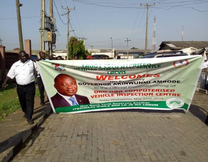 LASG Commissions Additional Eight LACVIS Centres
